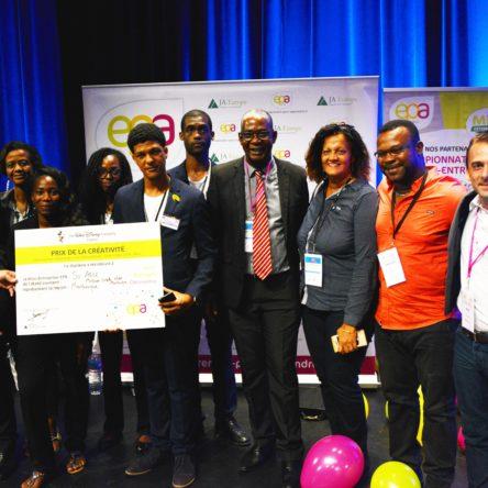 La mini entreprise SO ABLE remporte le prix de la créativité au championnat national EPA