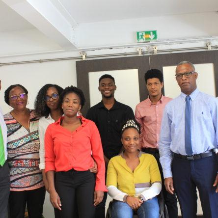 Visite des entreprises créées par des jeunes de la Mission Locale Nord