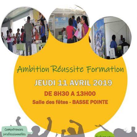 AMBITION REUSSITE FORMATION – Salle des fêtes de BASSE POINTE