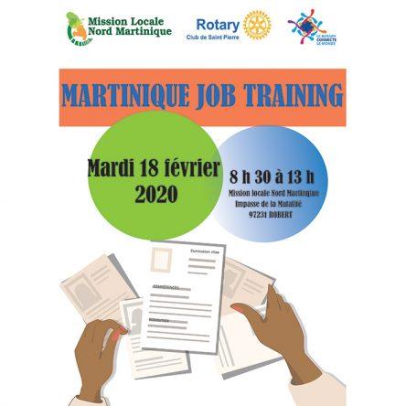 Martinique Job Training  2020