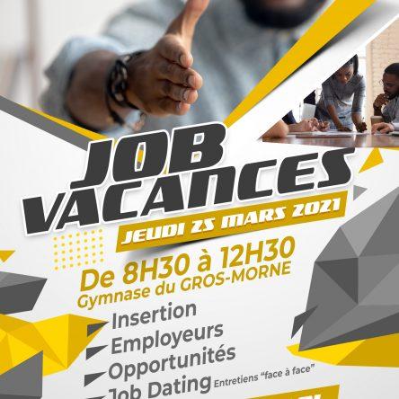 JOB VACANCES 2021